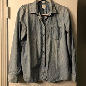 JCrew relaxed button up